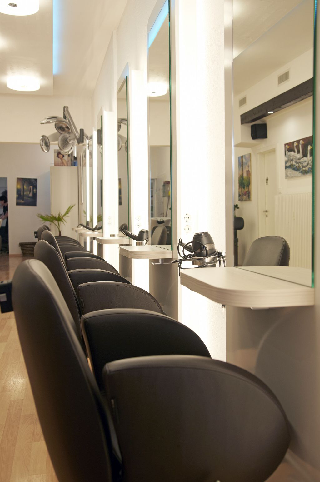 Beautiful Photo De Salon Coiffeur Photos Home Design